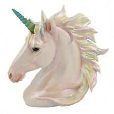 Pearlescent Unicorn Head LED Horn 19cm High Multi Coloured Nemesis Now Battery