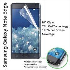 NEW UPDATED* Full Curve Samsung Galaxy Note Edge TPU Screen Protector Film x3