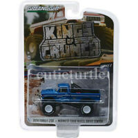 Greenlight 1974 Ford F-250 Monster Truck Bigfoot Midwest 1:64 Blue 49030 A