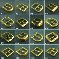 Solid Brass Belt Pin Buckle Men's/Women's Belt Buckles/Buckle Suit for 38mm Belt