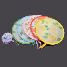 Lovely Round Hand Fan Cooling Foldable Pocket Portable Fan Color Random