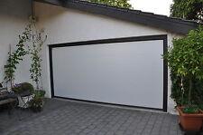Garagentor Sektionaltor L-Sicke RAL 9010 Reinweiß 5000 x 2250mm