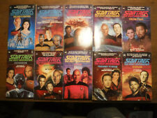 More details for star trek the next generation 11-20 book set first edition great condition