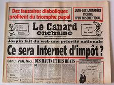 Le Canard Enchaîné 27/08/1997; Dessin de Cabu/ Des faussaires Diaboliques
