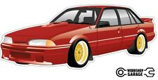 VL SS Group A Holden Brock Commodore Sticker with Simmons
