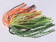Lot of 5 Spinnerbait Quick Skirts Fire Tiger