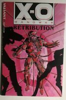 X-O MANOWAR Retribution (1993) Valiant Comics TPB FINE