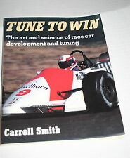 Tune to Win by Carroll Smith (1978, Paperback) EXCELLENT CONDITION