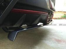 Rear Bumper Lip Diffuser For Hyundai Veloster Turbo NFD Style Carbon Fiber