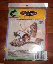 Long Stitch Beading Crafty Dove Mary B. Hetz Ornament Or Pin Peace #902D