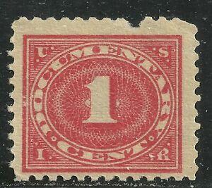 U.S. Revenue Documentary stamp scott r251 - 1 cent 1928-29 issue - mng - xx