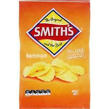 SMITHS BBQ CRINKLE POTATO CHIPS 90GM  CARTON OF 18