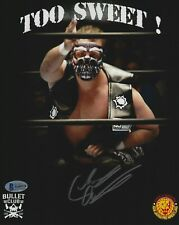 Chase Owens Signed 8x10 Photo BAS COA New Japan Pro Wrestling Bullet Club Auto 8