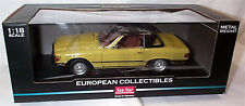 Mercedes Benz 350 SL 1977 Closed Convertable 1-18 scale LHD New in box