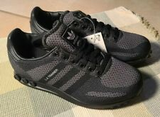 (Size US 4) adidas L.A. Trainer Weave Black Mens Trainers Sneakers EE6550