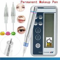 Permanent Makeup Machine Eyebrow Lip Eyeline Rotary Makeup Tattoo Pen Tools Kit
