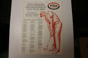1966 PGA championship Golf Program Firestone Country Club Akron, Ohio July 1966