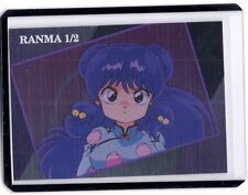 1996 EPOCH Rumiko Takahashi Ranma 1/2 Shampoo special foil insert card #T-11