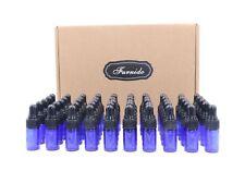 50 Pack 3 ml Cobalt Blue Glass Dropper Bottles,Empty Eye Dropper Sample Vials...