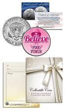 BREAST CANCER AWARENESS Coin JFK Half Dollar BELIEVE Hope FAITH Strength COURAGE