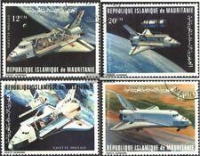 Mauretanien 715-718 (kompl.Ausg.) gestempelt 1981 Raumtransporter Space Shuttle