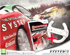 JUEGO WII NINTENDO FERRARI CHALLENGE Deluxe incl. racingwheel Producto NUEVO
