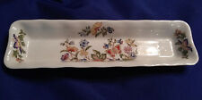 "Vintage Aynsley Fine English Bone China floral ""Cottage Garden"" small mint tray."