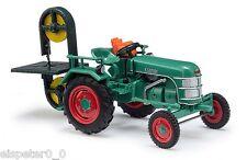 Busch 40069, Traktor Kramer KL 11 mit Bandsägenanbau, H0 Auto Modell 1:87