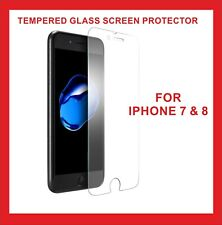 5x Clear Tempered Glass Screen Protector for Apple iPhone 7 & iPhone 8 4,7""