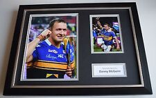 Danny McGuire SIGNED FRAMED Photo Autograph 16x12 display Leeds Rhinos Rugby COA