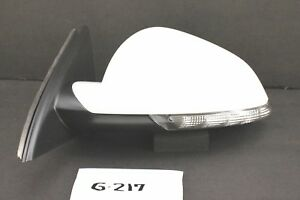 NEW GM OEM POWER DOOR MIRROR BLIND SPOT SIGNAL BUICK REGAL 14-17 PEARL WHITE LH