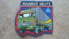 2 Stück Aufnäher Magirus Deutz  Truck LKW Neu  (Nr.847)