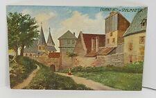 Frankfurt Schaumaintor Germany Vintage Postcard