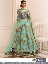 New Style India Pakistani Latest Design Party Wear Royal Floral Lehenga Choli
