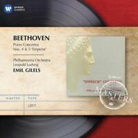Leopold Ludwig / Emil Gilels - Beethoven: Piano Concertos Nos 4 & And 5 (NEW CD)