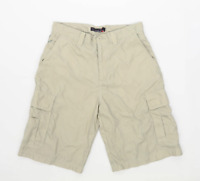 Quiksilver Mens Beige Cotton Shorts Size S/L9