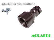 Adapter Mischbatterie für Aquarium Wasserwechsel,  Gardena Kompatibel