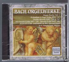 JS BACH CD NEW ORGAN WORKS VOL 4/ BWV 532.766.530.718.767.566 JC ZEHNDER