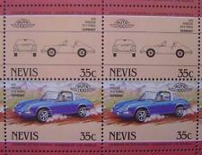 1970 PORSCHE 911 TARGA 911S Sports Car 50-Stamp Sheet / Leaders of the World