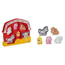 Fisher-Price Laugh & Learn Farm Puzzle Sounds Developmental Baby Toy Music New