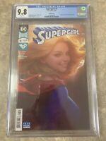 Supergirl #16 CGC 9.8 Artgerm Lau Cover DC