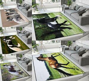 Modern Non-Slip Rugs Small Large Living Room Bedroom Carpets Floor Mat Runner
