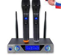 Wireless Handheld Karaoke Microphones For TV DVD Computer Speaker Condenser Mics