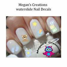 All About a Baby Boy Nail Art Decals  Baby Shower Gift