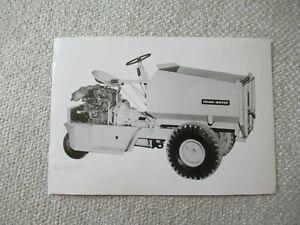"Prime mover stock PHOTO 7x5"""