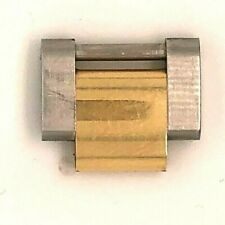 Original Rolex Oyster 2-Tone Yellow Gold & SS 15.5mm Link