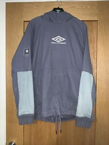 Pretty Green X Umbro Drill Top Hoodie *Rare* From 1st Collaboration