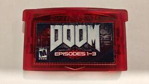 Doom PC-Version Custom Mod for Nintendo Game Boy Advance GBA UNCENSORED!