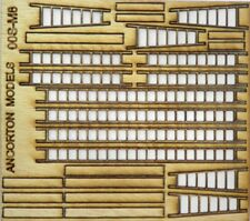 Ancorton Models 95742 Ladders and Planks Assorted Scratch Build Pk 00 Gauge