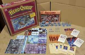 El Horror congelado, The Frozen Horror, Barbarian quest pack, Heroquest